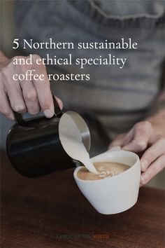 The best Northern roasteries to be ordering your brew-at-home beans from. Coffee Shop, Coffee Cups, Coffee Industry, Best Coffee, Barista, Brewing, Beans, Fabric, Food