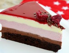 3 Types of Mousse Cake Sweet Desserts, Sweet Recipes, Hungarian Desserts, Cookie Recipes, Dessert Recipes, Torte Recepti, Easy Appetizer Recipes, Let Them Eat Cake, Cake Cookies
