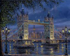 London Bridge  would love to have a painting of this