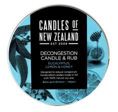 Decongestant Eucalyptus Candle and Rub | Shop New Zealand NZ$ 25.90
