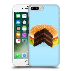Official Paul Fuentes Hamburger Cake Junk Food Hard Back Case for Apple iPhone 7 Plus -- Awesome products selected by Anna Churchill