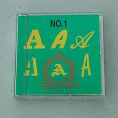 Brother Embroidery Card No. 1 Alphabet Design Monogram Sewing