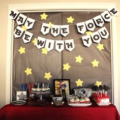 Star Wars birthday party free printables