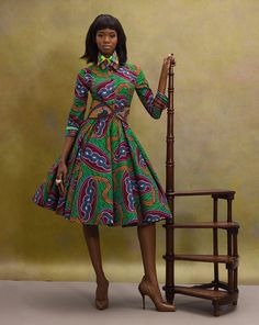 Vlisco ~African fashion, Ankara, kitenge, African women dresses, African prints, African men's fashion, Nigerian style, Ghanaian fashion ~DKK
