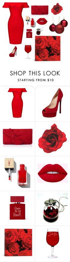 Untitled #2 by lena-kms on Polyvore featuring Posh Girl, Casadei, L.K.Bennett, Bella Freud, iCanvas and Cathy's Concepts
