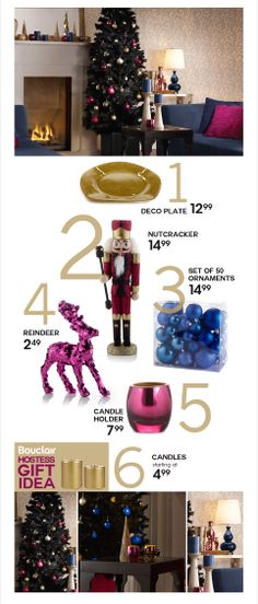Bouclair Home - Rich, royal gem tones for the holidays