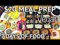 Today i'm doing a haul of the foods i purchased at the market for this week's meals as well as showing how i made them! High Protein Vegan Recipes, Vegan Foods, Vegan Snacks, Vegan Recipes Easy, Organic Recipes, Vegan Vegetarian, Cheap Lazy Vegan, Cheap Vegan Meals, Cheap Dinners