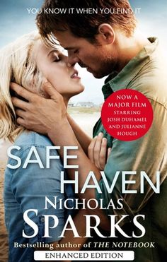 Safe Haven Book, Book Safe, Julianne Hough Safe Haven, Learn To Trust Again, Nicholas Sparks Books, Carolina Do Norte, Learning To Love Again, Believe, Cinema