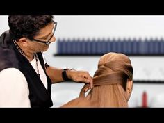 ▶ The Pomp Double Fold Up-Style - YouTube...Love how he does the knots at the end