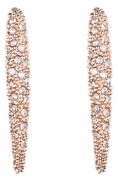 Alexis Bittar 'Miss Havisham' Encrusted Crescent Drop Earrings available at #Nordstrom
