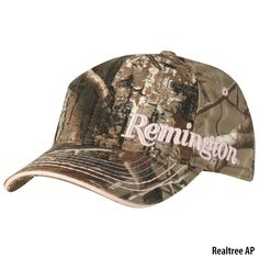 Remington Women's Camo Cap Tye another one for your collection.... I have this hat and I love it!!