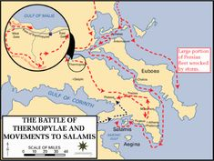 Greco-Persian Wars Battle of Thermopylae 480 BC Map Ap World History, History Facts, Ancient History, Greek History, Battle Of Plataea, Battle Of Salamis, Athens And Sparta, Greco Persian Wars, Map Quiz