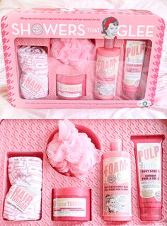 soap glory showers that glee gift set would love the whole