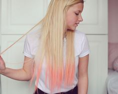 Pink hair highlight ideas!