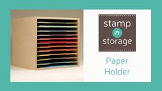 Providing paper crafters with high-quality space-efficient storage to organize their craft and unleash creativity.