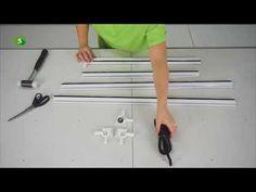 Cómo instalar una mosquitera corredera para ventanas - YouTube Youtube, Tools, Art, Renovation, Tips, Blinds, Mosquito Net, Restoring Furniture, Home