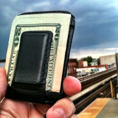 """Would Eric Anderson (@esquarea on Twitter) trade his wallet for this one: http://www.fastcodesign.com/1669980/the-wallet-of-the-future-is-the-wallet-of-the-past? """"Not. Gunna. Happen. You can pry my front pocket wallet from my cold, dead hands."""""""