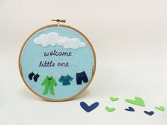 Baby boy nursery decor Personalized baby cloths picture baby shower gift baby birth gift idea Welcome baby boy Embroidery hoop art Baby Boy Nursery Decor, Baby Boy Nurseries, Birth Gift, Baby Birth, Baby Baby, Welcome Baby Boys, Embroidery Hoop Art, Embroidery Designs, Flower Embroidery