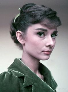Audrey, looking stunning, as usual.