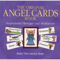 Here Is A 2006 Tiny Paperback Titled, 'The Original Angel Cards Book' By Kathy Tyler And Joy Drake. Author: Kathy Tyler and Joy Drake. Title: The Original Angel Cards Book. Playing Card Games, Levels Of Understanding, Angel Cards, New Edition, Inspirational Message, 25th Anniversary, Book Collection, Paperback Books, Drake