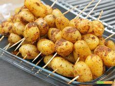 Patate novelle al rosmarino  #ricette #food #recipes