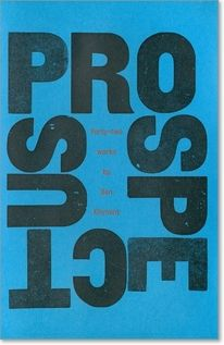 manystuff.org — Graphic Design daily selection » Blog Archive » Prospectus 1988 – 2010 – Ben Kinmont