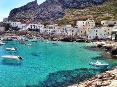 Levanzo, Sicily, Italy.