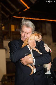 Alain Delon and his love to animals.
