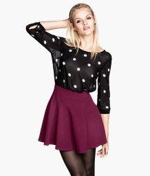 Jersey skirt H&M 19.95