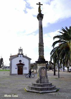 Cruceiro, peto de ánimas e capela de San Campio da Ramallosa NIGRÁN (Pontevedra)