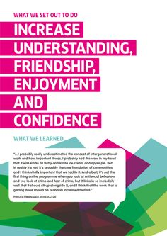 Identity for youthwork conference by Veronica Ferguson, via Behance