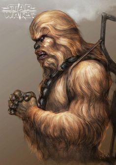 starwarsfangirl1975:  Wookiee♥
