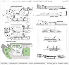 Wolfsburg Cultural Center, Germany (1958-62)   Alvar Aalto   Archweb