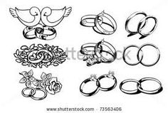 Tattoos Of Intertwined Wedding Rings Google Search