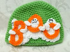 Ghostly BOO Hat $4.00