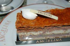 Salon de thé Angelina Paris.