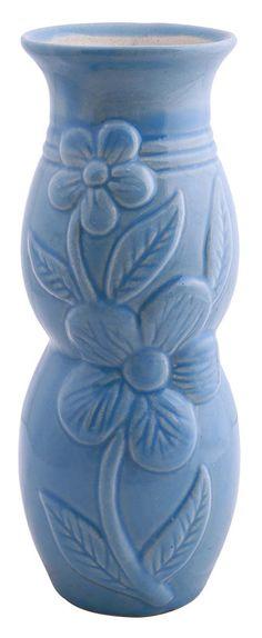 Bulk Wholesale Handmade 65 Ceramic Flower Vase In Blue White