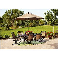 Walmart: Better Homes And Gardens Paxton Place Outdoor Patio Umbrella