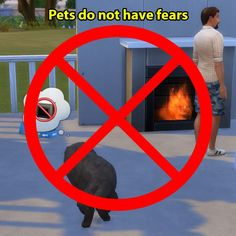 Mod The Sims - Pets do not have fears