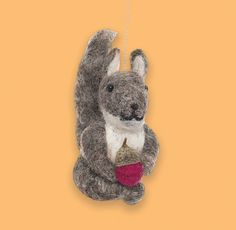 This little felt animal Christmas decoration will look gorgeous on your tree. After Christmas don't pack him away. He'll happily hang from your door handle. £5.95 All available on www.kawaiianimals.com