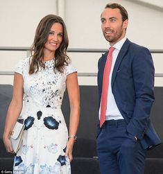 Pippa and James Middleton (pictured) share a flat in London's upmarket Chelsea neighborhood.