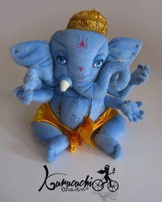 Que talun Ganesha de peluche para buen afortuna. Pedidos kurucuchi@gmail.com