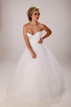 Wedding Dress ESTELLE Bridal Collection  Visit the Facebook page: https://www.facebook.com/EstelleVisserDesigns