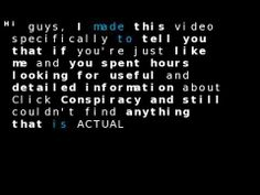 Click Conspiracy Review