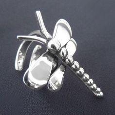 LWSilver - Dragonfly Ring, Silver Dragonfly Ring Wirral, Handmade Silver Dragonfly Ring, Dragonfly Ring Liverpool. #jewellery #lwsilver #wedding #dragonfly #handmade #necklace