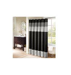 "Madison Park Amherst Shower Curtain - Black - 72x72"" Madi... http://www.amazon.com/dp/B007T4AIKC/ref=cm_sw_r_pi_dp_XEJoxb1FS3MKD"