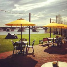 John Wright's in Wrightsville--right on the river...possible venue?!?!