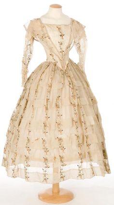 Dress, 1850-60