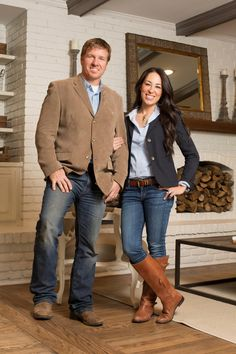 Learn more about Joanna Gaines, host of HGTV's <i>Fixer Upper</i>.