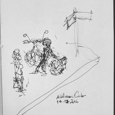 """52 curtidas, 1 comentários - Autoria: @altillierme_carlo (@desenhos_do_alti) no Instagram: """"Prosa • Despedida  Dia 349... #desenhosdoalti #desenhos #sketch #sketchers #sketchbook #art…"""""""